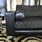 Three Seat Sofa by Jardan in Leather & Fabric (2 available)