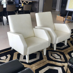 Leather Club Chair by Versace Home (2 available)
