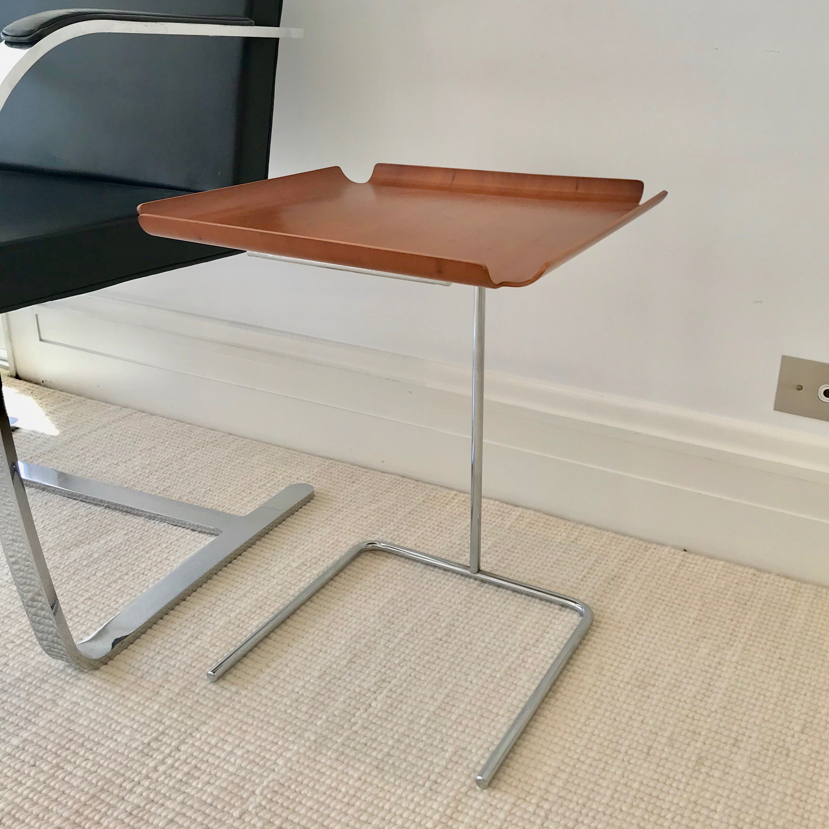 Picture of: Adjustable Tray Table By George Nelson Through Herman Miller Home Furniture On Consignment