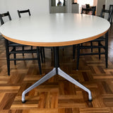 Eames Segmented Base Dining / Meeting Table by Herman Miller