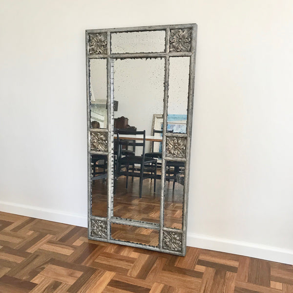 Antiqued Silver Mirror