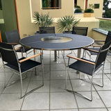 7 Piece O-Zon Outdoor Dining Table & Chairs by Royal Botanio