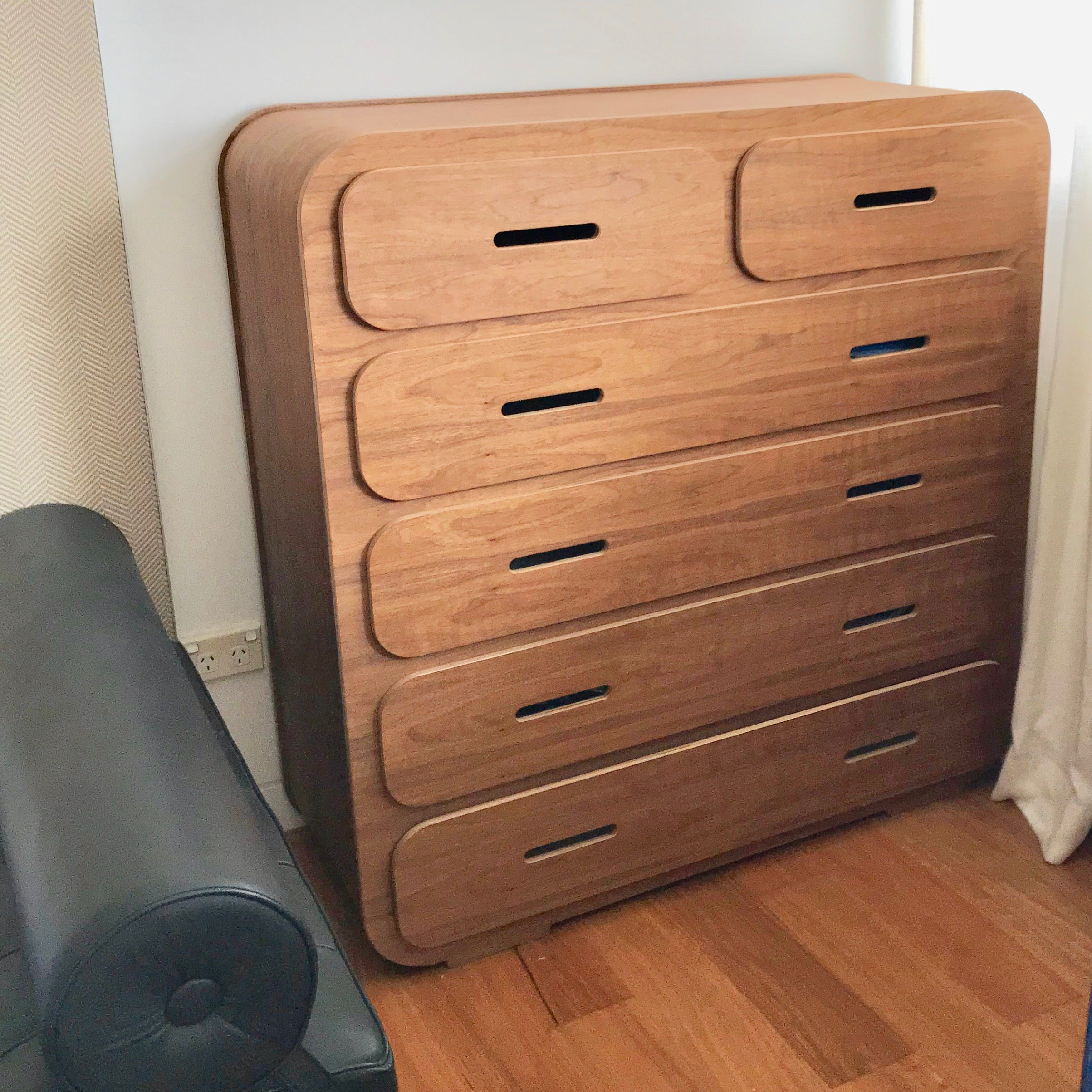 Chest of drawers by Unto This Last London