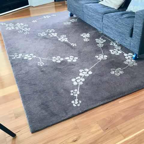 Bangkok Flower Area Rug by Designer Rugs