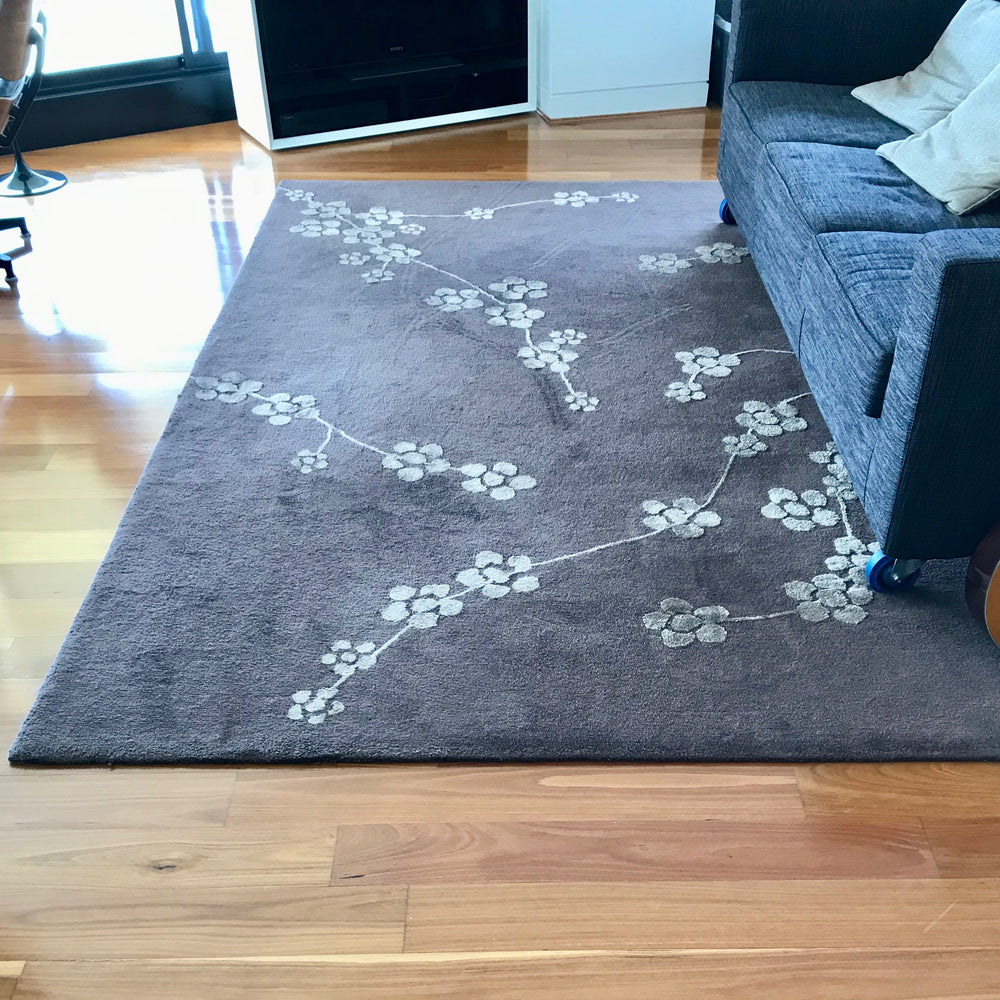 Load image into Gallery viewer, Bangkok Flower Area Rug by Designer Rugs