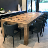 Museum Dining Table by Timothy Oulton through Coco Republic