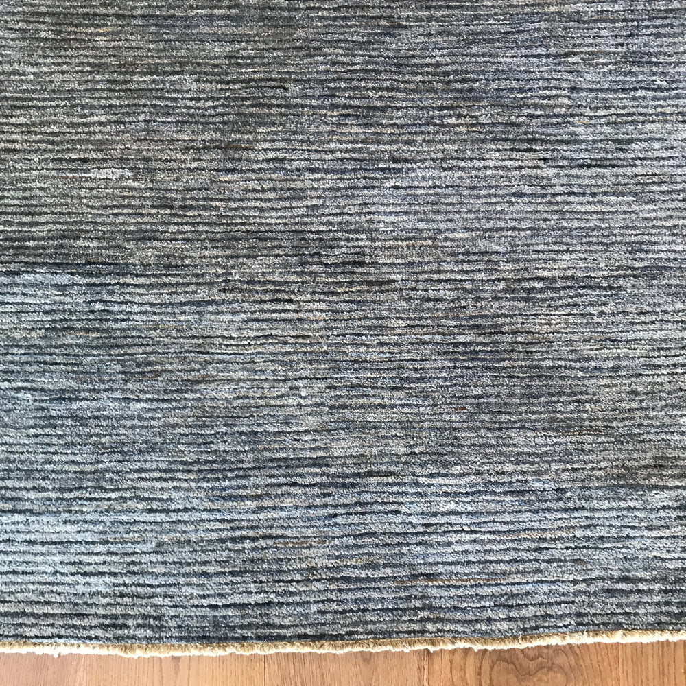 New Blue Stripe Area Rug by Robyn Cosgrove