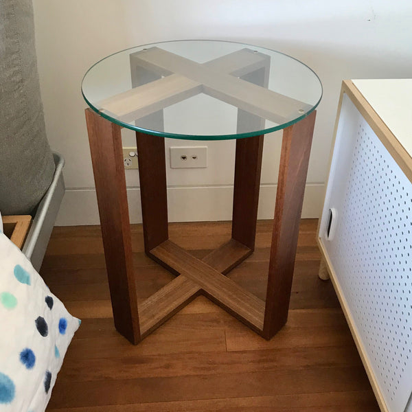 Cruciform Side Table by Planet Furniture (2 available)