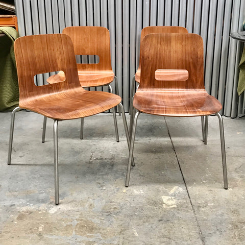 Set of FOUR 'Miss Molly' Chairs by Schamburg + Alvisse