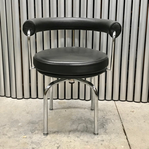 LC7 swivel Chair by Le Corbusier for Cassina