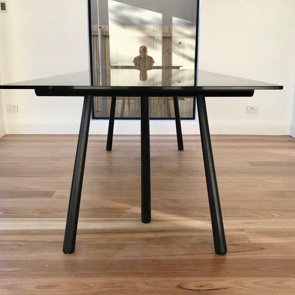 Altay Black Ash Dining Table by Patricia Urquiola for Coedition