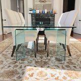 Ray Plus Extension Dining Table by Fiam Italy