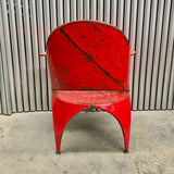 Metal Occasional Chair through Country Trader