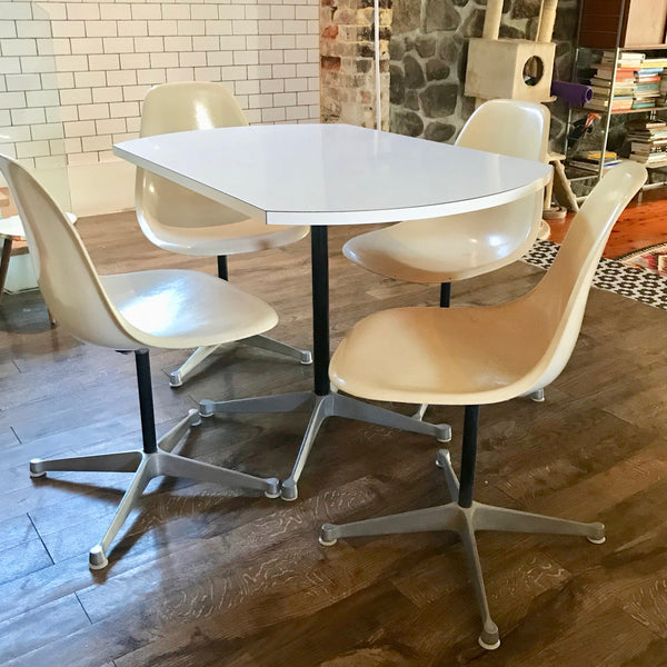 Vintage Eames Contract Base Table by Herman Miller