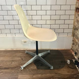Set of FOUR Vintage Eames Swivel Side Shell Chairs by Herman Miller