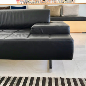 Load image into Gallery viewer, Quadra Sofa by Studio Cerri & Associates for Poltrona Frau (Brown Leather)