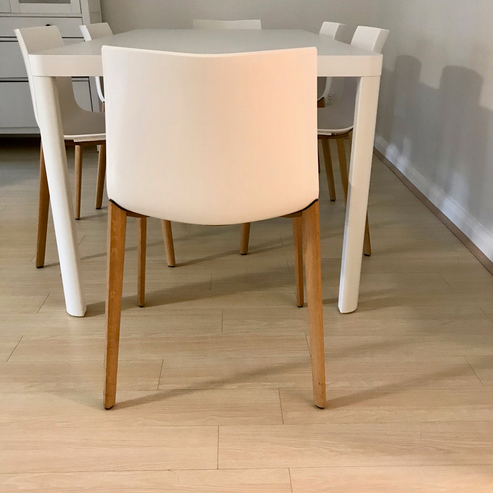Set of SIX Catifa 46 Dining Chairs by Arper through Stylecraft