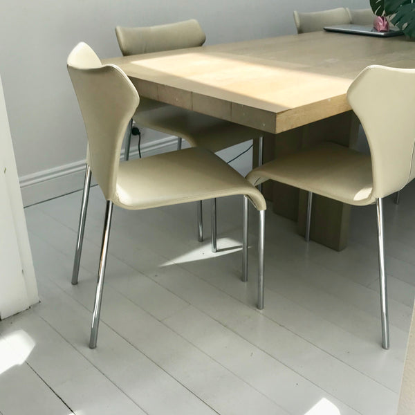 Set of FOUR Papilo Dining Chairs by Naoto Fukasawa for B&B Italia