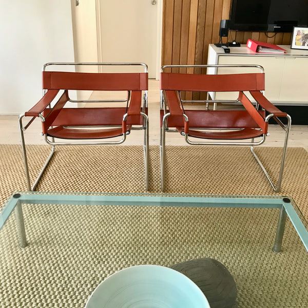 Wassily B3 Chair by Marcel Breuer for Knoll