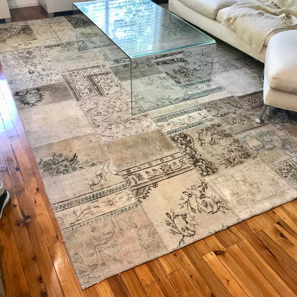 Indian Patchwork Area Rug