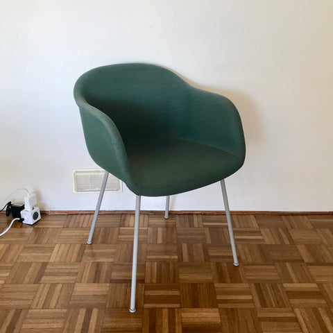 PAIR Fiber Chair with Tube Base by Iskos-Berlin for Muuto