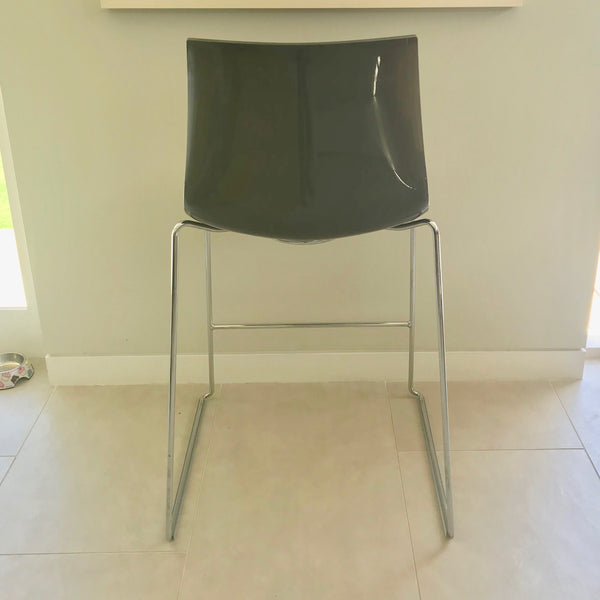 Catifa 46 High Back Barstool by Arper