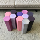 MUC4 Side Tables by Christophe Delcourt through Ondene (minor damage)