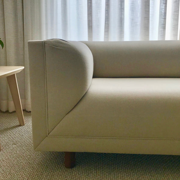 Rolled Arm Sofa by Ward Bennett for Herman Miller