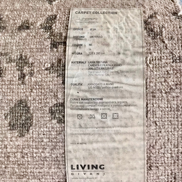 Sin Titulo Area Rug by Living Divani