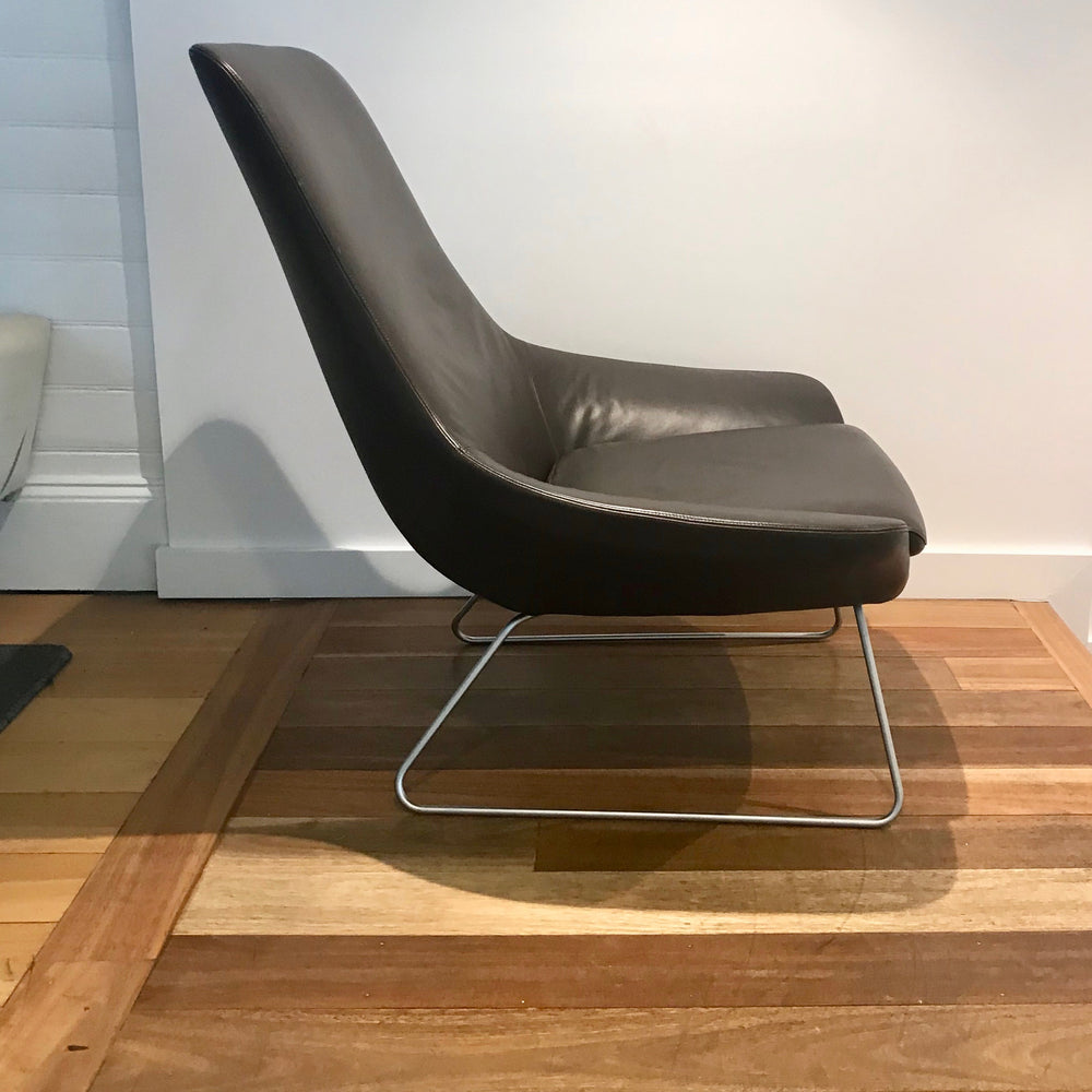 Flow Chair by Walter Knoll in Leather (2 Available)