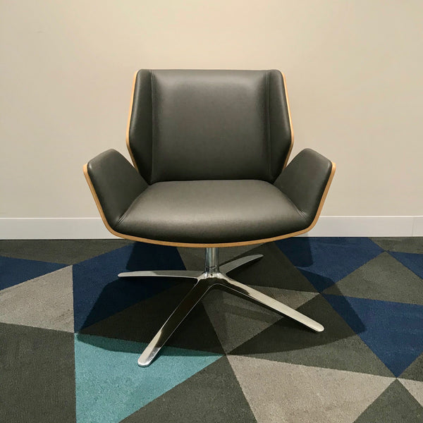 Kruze Lounge Chair by David Fox for Boss Design (2 available)