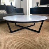 Marble Top Coffee Table by MCM House