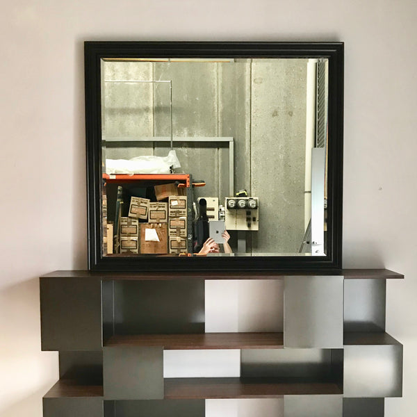 Timber Framed Wall Mirror by Coco Republic 1350 x 1200