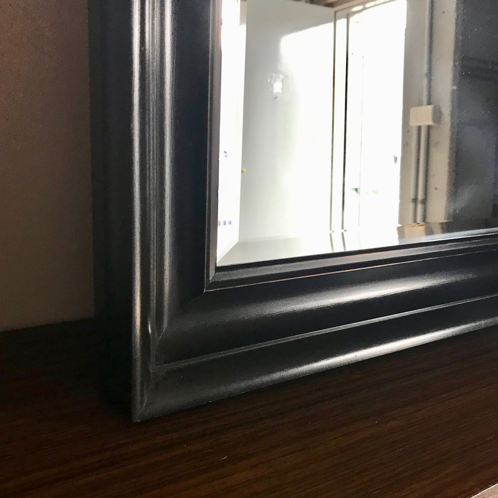 Timber Framed Wall Mirror by Coco Republic 1360 x 1400