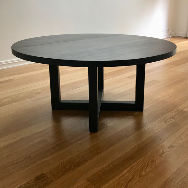 Global Circular Dining Table by MCM House