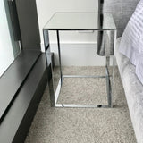 Simplice Elios Small Square Table by Antonio Citterio for Maxalto