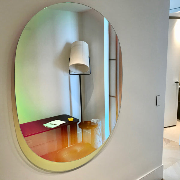 Shimmer Mirror by Patricia Urquiola for Glas Italia
