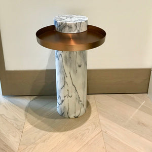 Salute Side Table by La Chance through Living Edge