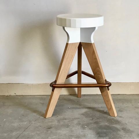 Pylon Barstool by Rory Unite (2 available)