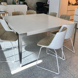 Corian Top Dining Table by Thomas Jacobsen through Space.