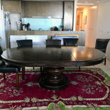Normandie Manor Round Extension Dining Table by Coco Republic
