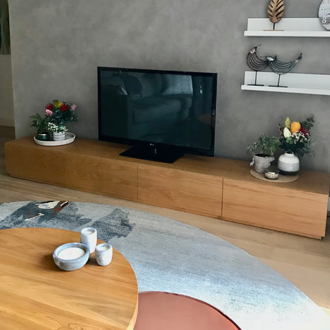 Custom Media Unit by Hare & Klein