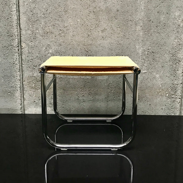 LC9 Bath Stool by Le Corbusier for Cassina