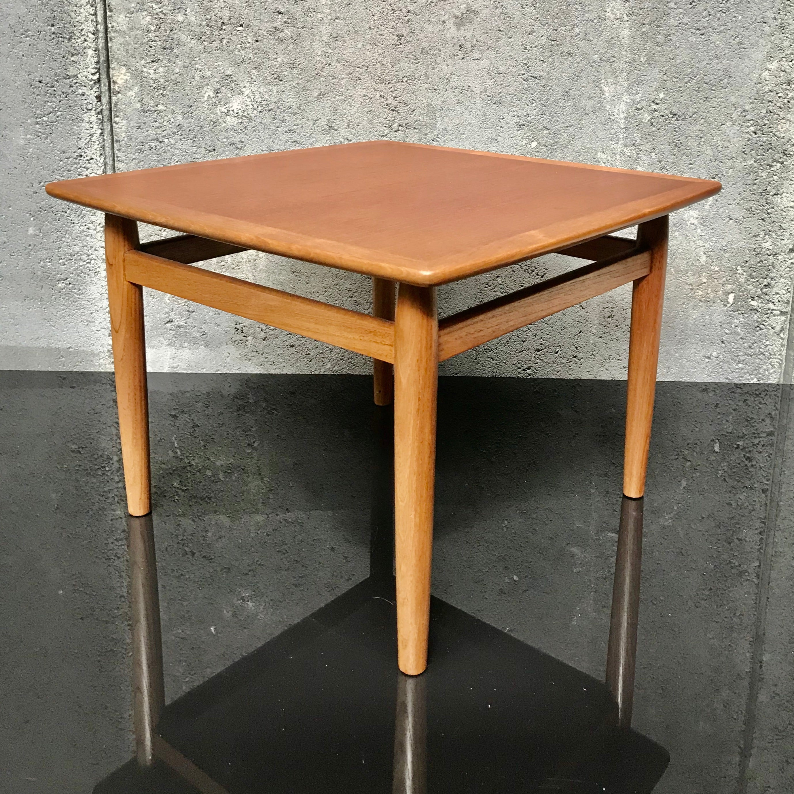 Vintage Oak Side Table