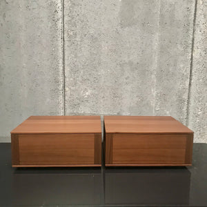 PAIR Abbinabili Bedside Tables by CR&S for Poliform