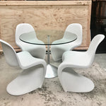 Set of FOUR Panton Chairs by Verner Panton for Vitra (2 sets available)