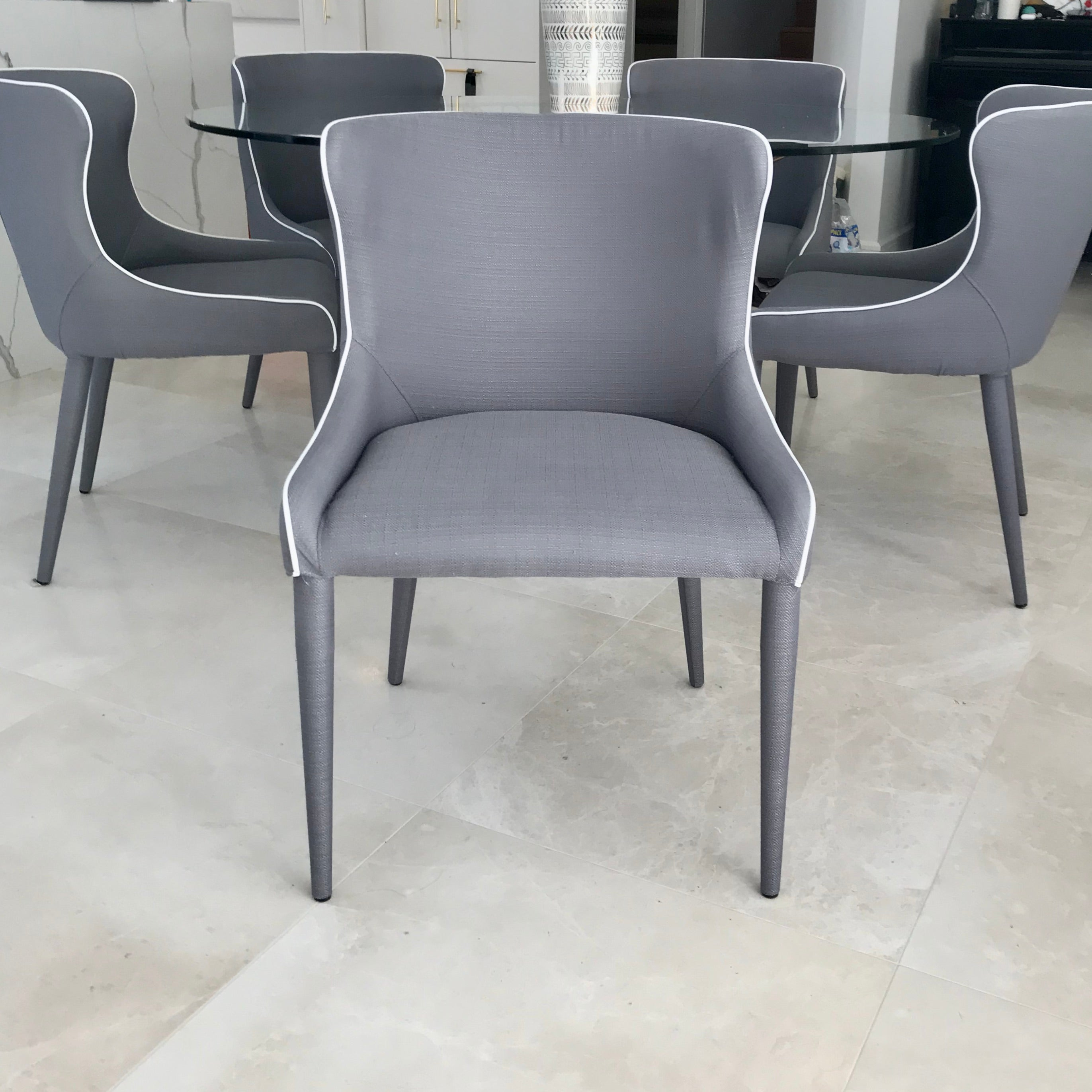 Set Of Six Markson Dining Chairs By Coco Republic Home Furniture On Consignment