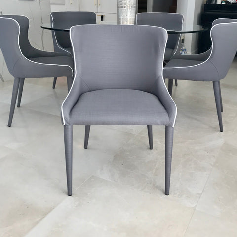 Set of Six Markson Dining Chairs by Coco Republic