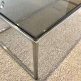 Lap Glass Top Coffee Tables by Altone through Fanuli (pair)