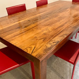 Solid Timber Dining Table by Jimmy Possum